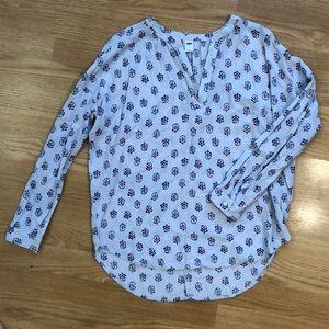 Fun spring blouse